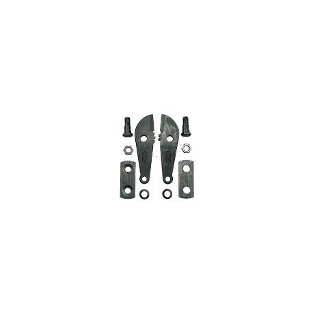 Náhradné čeľuste k BC418 na kliešte štiepačky pákové, 450mm, do: 8mm