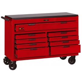 Vozík na náradie široký Teng Tools, 9 zásuviek (8 delených)