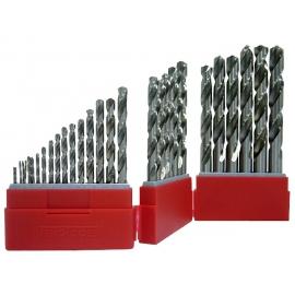 Sada vrtákov 1 - 13mm, HSS, 34 dielov, Teng Tools