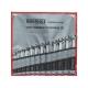 Metrický očko-vidlicový kľúč 8, 9, 10, 11, 12, 13, 14, 15, 16, 17, 18, 19 mm
