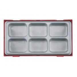 Box na náradie 6 odkladacích priehradok Teng Tools