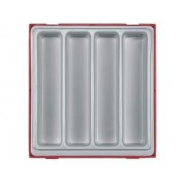 Box na náradie - 4 dlhé odkladacie priehradky Teng Tools
