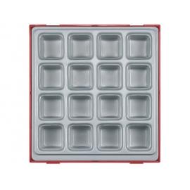 Box na náradie 16 odkladacích priehradok