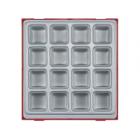 Box na náradie s 16 odkladacími priehradkami