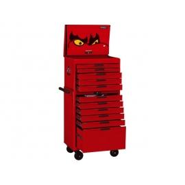 Komplet náradia vo vozíku a box na náradie Teng Tools, EVA systém, 530 dielov