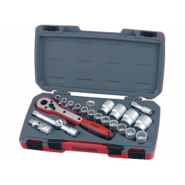 "Gola sada Teng Tools náradia 1/2"" račňa s príslušenstvom, 10-32mm, 6hr., T1221-6"