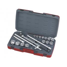 """Sada 3/4"""" račňa s príslušenstvom, 19 - 50mm, 6hr., Teng Tools"""