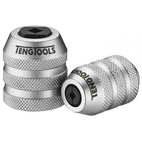 """1/4"""" adaptér na závitníky M3 - M8, 20mm, Teng Tools www.naradie-tools.sk"""