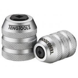 """1/4"""" adaptér/ rýchlo upínacie skľúčovadlo na závitníky M5 - M12, 25mm, Teng Tools www.naradie-tools.sk"""