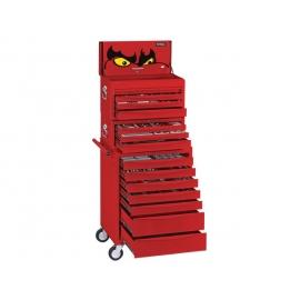 Komplet náradia vo vozíku a boxoch, 569 dielov Teng Tools