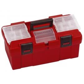 Plastový box s madlom a zásobníkom 445x240x207