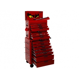 Komplet náradia vo vozíku a boxoch, 1055 dielov Teng Tools