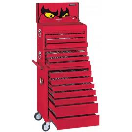 Komplet náradia vo vozíku a boxoch (štandard), 1055 dielov Teng Tools