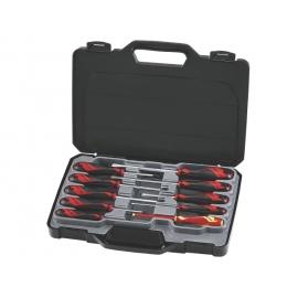 Sada skrutkovačov v kufríku, MD910N, 10 dielov, Teng Tools
