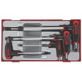 Sada T-imbus skrutkovačov 2,5 - 8mm, 7 dielov, Teng Tools
