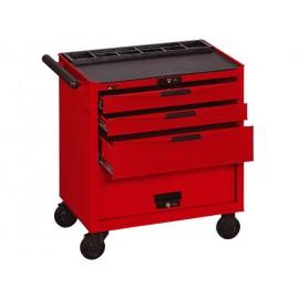 Vozík na náradie Teng Tools (3 zásuvky + box)