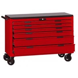 Vozík na náradie široký Teng Tools, 6 zásuviek