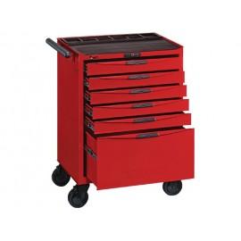 Vozík na náradie so 6 zásuvkami (1 vysoká) Teng Tools