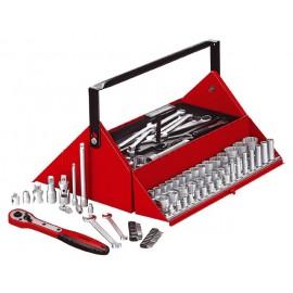 """Box s náradím Teng Tools 1/4"""", 3/8"""", 1/2"""" 12hr.,187 dielov"""