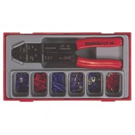 Sada konektorovacích kliešti s konektormi, 121 dielov, Teng Tools