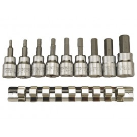 "Sada Teng Tools 3/8"" imbusové hlavice palcové rozmery AF 3/32"" - 3/8"""
