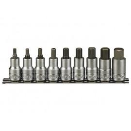 """Sada 1/2"""" imbus hlavíc 5 - 17mm, 9 dielov, Teng Tools"""