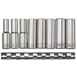 "Gola sada 1/2"" hlavíc 13 - 24mm, 12hr., dlhé, 8 dielov, Teng Tools"
