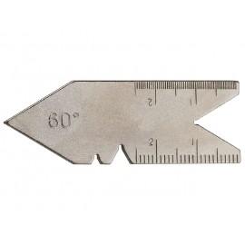 LIMIT Mierka uhlová 60° na meranie závitov