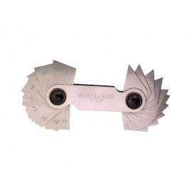 Uhlové mierky pre uhly 1°-45° www.naradie-tools.sk