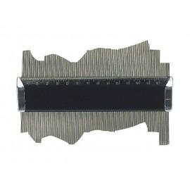 Profilová šablóna 300 mm - štukatérsky hrebeň - naradie-tools.sk