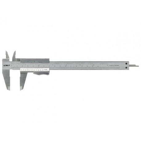 LIMIT posuvné meradlo štandardné 150 mm, nerez, LIMIT