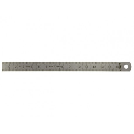 Pravítko oceľové tenké 200 mm