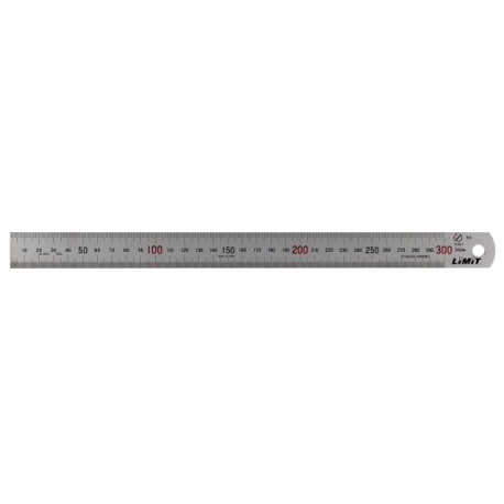 LIMIT pravítko oceľové, dolná a horná stupnica 2000 mm
