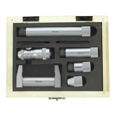 LIMIT Mikrometer s nástavcami na meranie dier 50-250mm