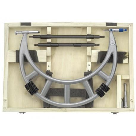 LIMIT Mikrometer strmeňový s nástavcami 500-600mm
