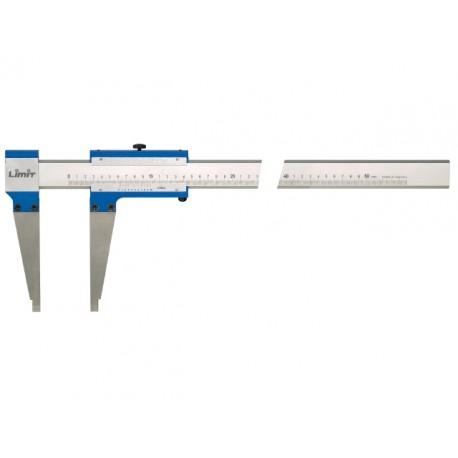 LIMIT posuvné meradlo z konštrukčného hliníka 1000x500