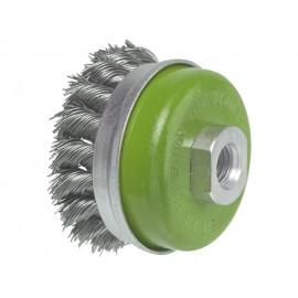 una kefa misková 65 mm/M 14, 0,50 mm oceľový spletaný drôt
