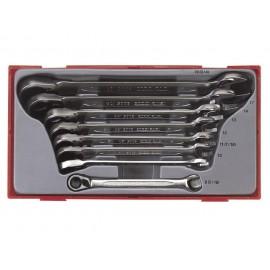 Sada račňových kľúčov 8-19mm, TT6508R, 8 dielov, Teng Tools