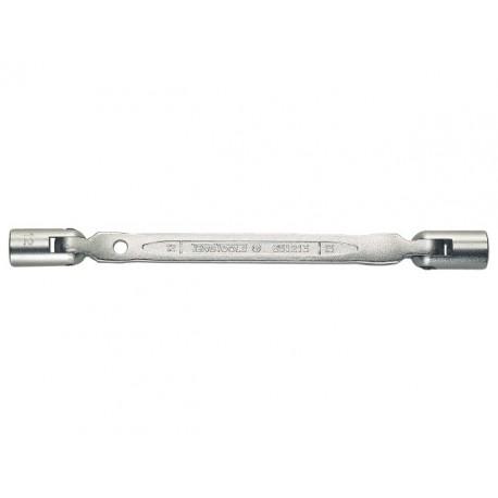 """Obojstranný kĺbový kľúč Teng Tools 12-hranný palcový. AF 5/8""""x11/16"""", palcové obojstranné kĺbové kľúče - profesionálne dielenské"""