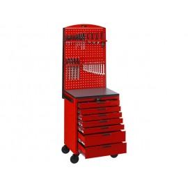 Komplet náradia vo vozíku s panelom, 545 kusov Teng Tools
