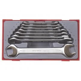 Sada plochých kľúčov TT6208, 6 - 22mm, 8 dielov, Teng Tools