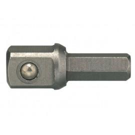 "1/4"" bit adaptér pre 3/8"" hlavicu, d 32mm, Teng Tools"