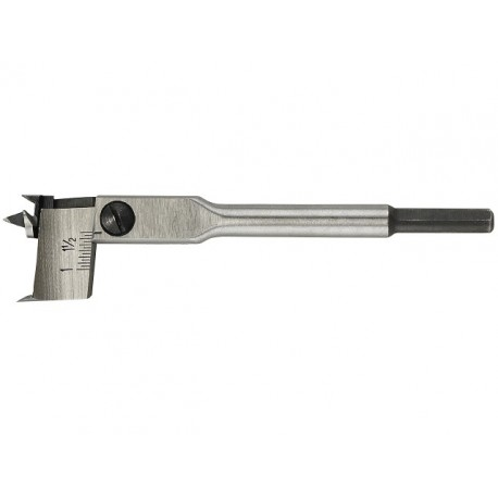 LUNA nastaviteľný vŕtak 16-45 mm, L 125mm