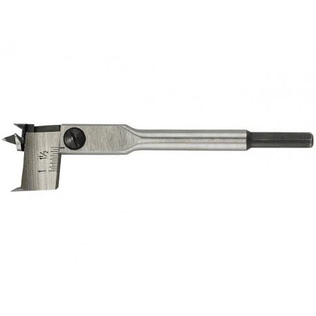 LUNA nastaviteľný vrták do dreva 22-76 mm, L 175mm