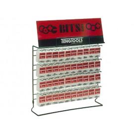 Predajný stojan Teng Tools s bitmi