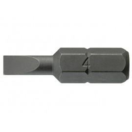 """1/4"""" bit plochý 0,6x4,5x25mm, Teng Tools"""