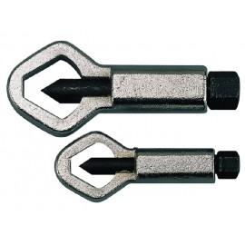 Teng Tools kľúče na poškodené matice, 5-27mm, 2 kusy