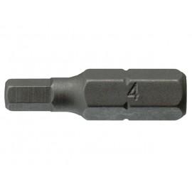 "1/4"" bit imbus 6x25mm, Teng Tools"