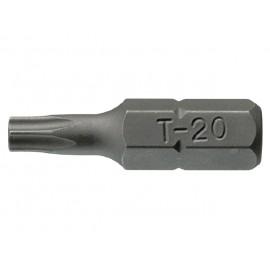 """1/4"""" bit TORX dutý, Teng Tools TPX10x25mm"""