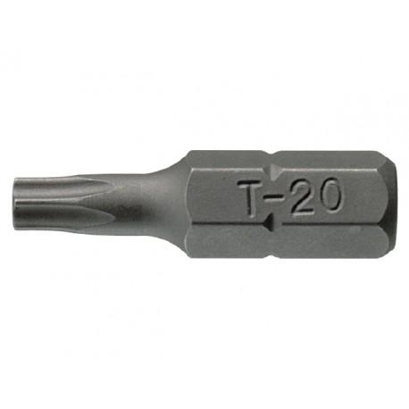 """1/4"""" bit TORX dutý, Teng Tools TPX25x25mm"""